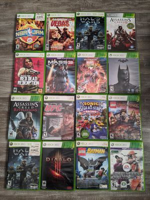 Xbox 360 Games ( Prices vary - read below ) for Sale in Fontana, CA