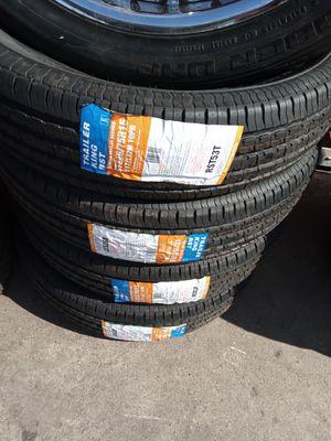4 New King Trailer Tires 225/75/15 for Sale in Phoenix, AZ