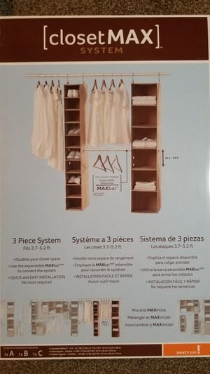 Closet Organizer for Sale in Danbury, CT