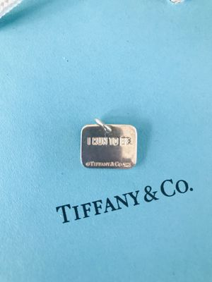 Tiffany and Co. women's Nike marathon pendant sterling silver hallmark of coarse great condition please ask any questions thank you for looking for Sale in Redlands, CA