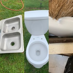 Kitchen sink,toilet,bathroom bowl for Sale in Beverly Hills, CA