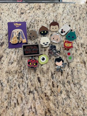 Disney Pins - Variety. All purchased from Disneyland for Sale in Phoenix, AZ