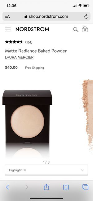 Laura mercier matte radiance baked powder, like new. for Sale in Bellevue, WA