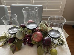 Fruit candle centerpiece. for Sale in Austin, TX