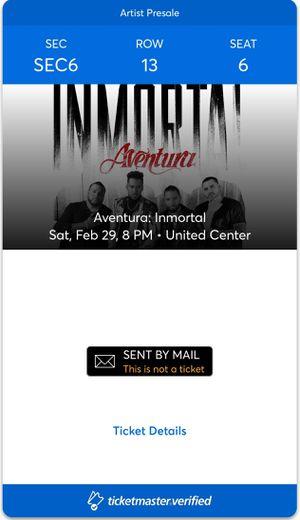 Aventura Floor Seats Saturday Feb 29 for Sale in Chicago, IL
