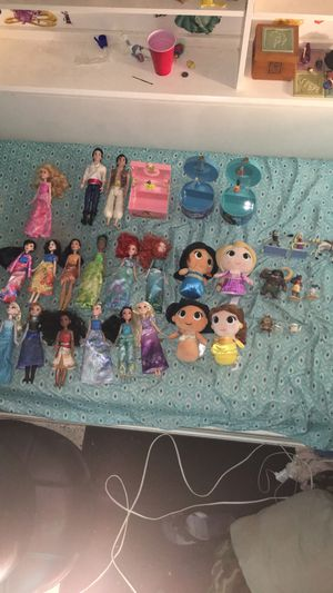 Disney Princess Dolls/Figures/Music Boxes for Sale in Homestead, FL