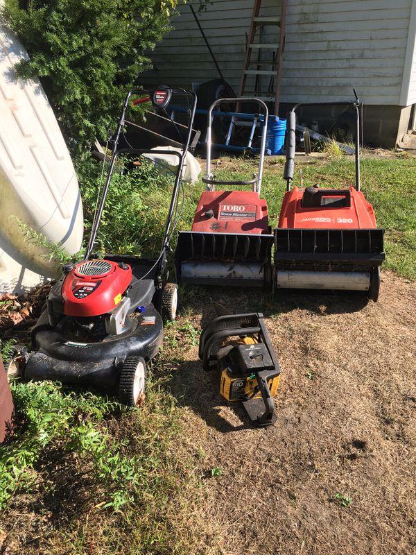 Used power equipment