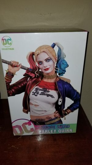 DC collectibles Suicide Squad Statue Set of 6 for Sale in Fort Worth, TX