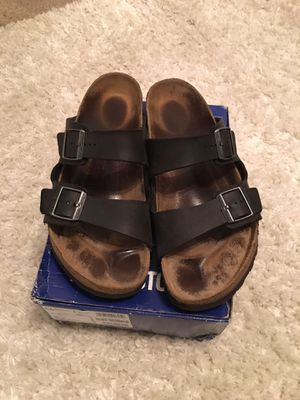 Birkenstocks black size 46(12-13) for Sale in Portland, OR