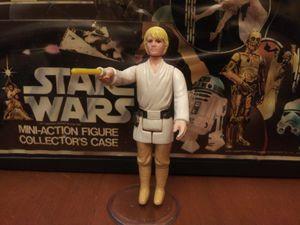 Vintage star wars action figure LUKE SKYWALKER 1977 Complete original for Sale in Clarksville, IN
