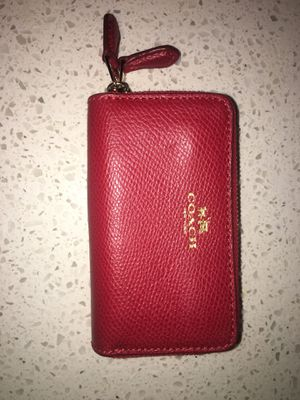 Coach double zip small wallet. for Sale in Washington, DC
