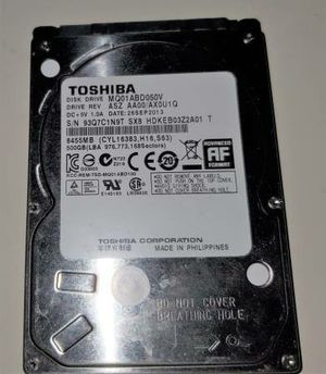 Toshiba MQ01ABD050V 500GB Laptop Computer Playstation 3 PS3 Hard Drive for Sale in Queens, NY