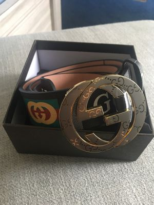 Gucci Belt Gold Buckle Size 38/95 for Sale in Sugar Land, TX