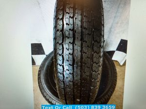 """""""Nubby New"""" Set / 4 Power King Tow Max Trailer Tires ST 205/75r14 for Sale in Beaverton, OR"""