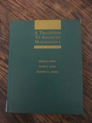 A transition to advanced Mathematics for Sale in Vernon, CA