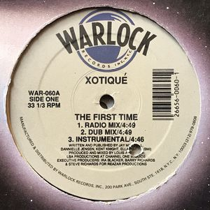 XOTIQUE - The First Time - (12-inch Vinyl Record) Single for Sale in Corona, CA