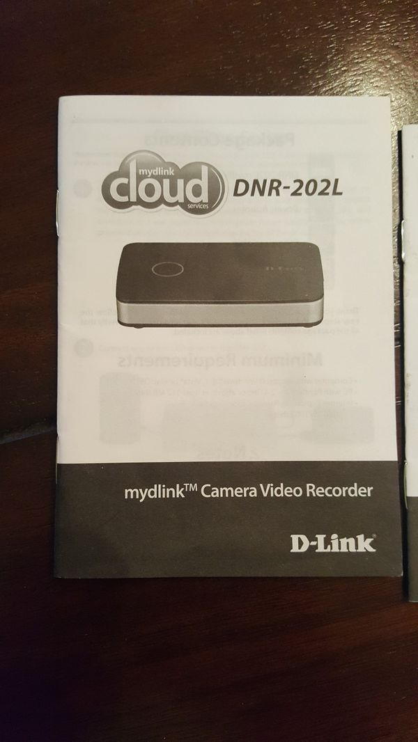 D-LINK DAY/NIGHT WIFI NETWORK CAMERA WITH VIDEO RECORDER