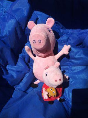Peppa pig plushes for Sale in Saint Petersburg, FL