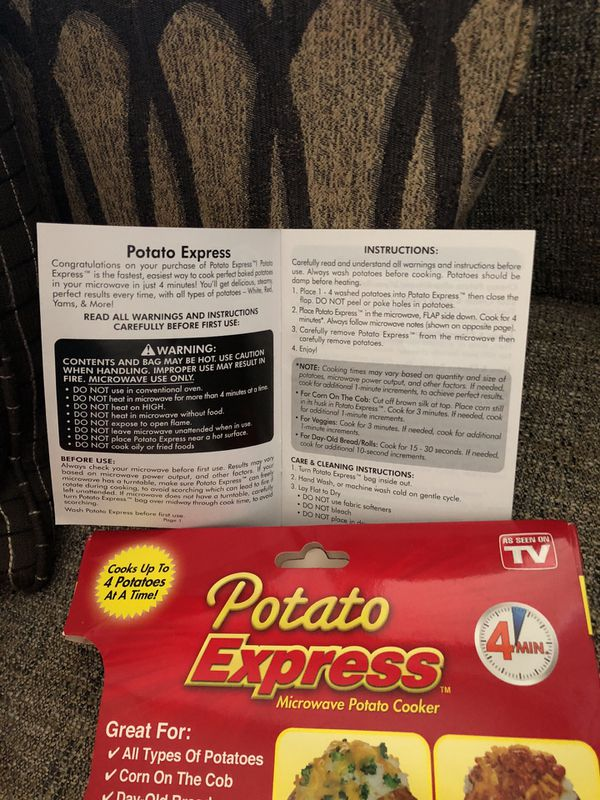 Potato Express. Please see all the pictures