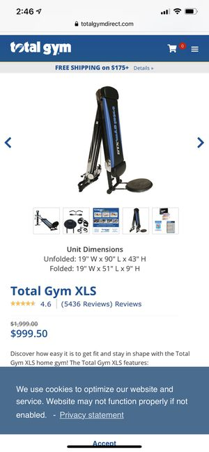 Total Gym XLS for Sale in West Richland, WA