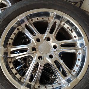 """20"""" 6 Lug Rims & Tires Package Deal for Sale in Olympia, WA"""