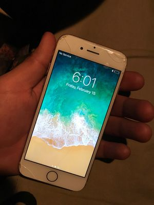 iPhone 8 unlocked just cracked for Sale in Sanger, CA