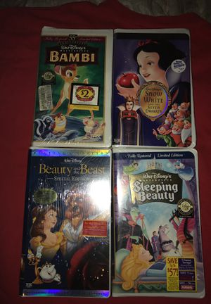 Sealed Disney VHS Tapes, Taking Offers Now!! for Sale in Pittsburgh, PA