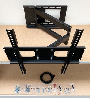 "$28 NEW HDMI and Full Motion TV Wall Mount Combo 23""-50"" Swivel Tilt for Sale in Whittier, CA"