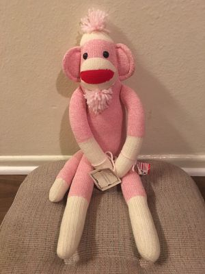 Sock Monkey Toy for Sale in Los Angeles, CA