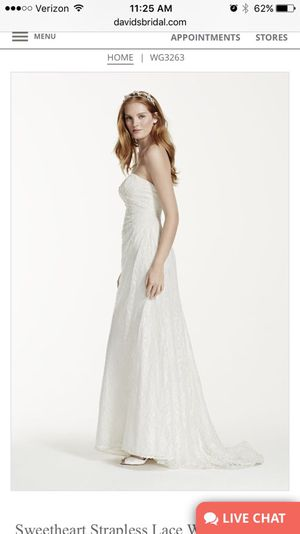 Never Worn Wedding Dress for Sale in Columbus, OH