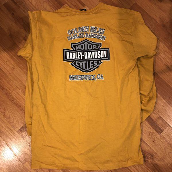Harley Davidson Long Sleeze shirt made in USA