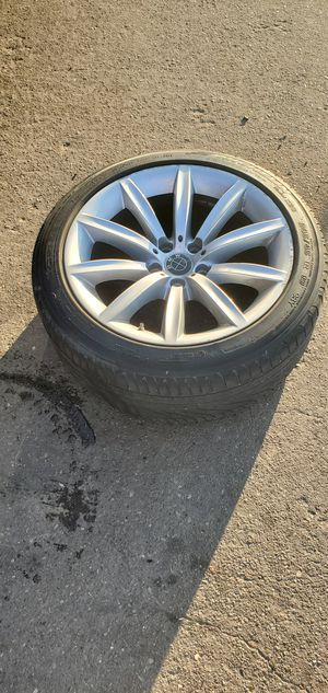 BMW OEM 5,6,7 Series Wheel Rim. 9Jx19 H2 IS24, Style 231, BMW 750i, Tire Size: 245/45R 19, Part #6774705, 9JX19 H2 IS24 for Sale in Houston, TX