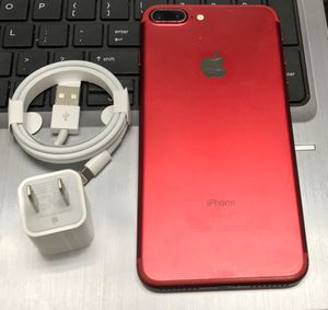 iPhone 7 Plus 128GB Factory Unlocked-Red for Sale in Union City, NJ