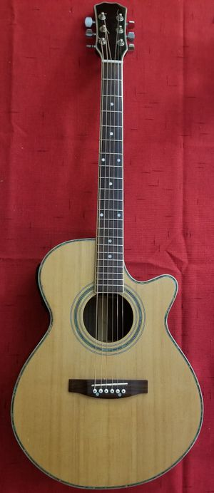 Spruce top Electric Acoustic Guitar for Sale in Ashburn, VA