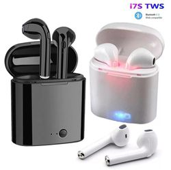 Wireless Bluetooth Headphones Stereo sound for iPhone Samsung Lg Android black and white color(Auriculares inalámbricos Bluetooth Sonido estéreo for Sale in Miami,  FL