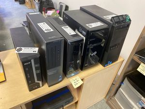 Assorted pentium->i5 Pc's all $35 for Sale in Bellingham, WA