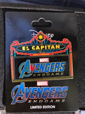 Avengers Endgame Marquee (FLAWED) LE 300 Disney Pin for Sale in Anaheim, CA