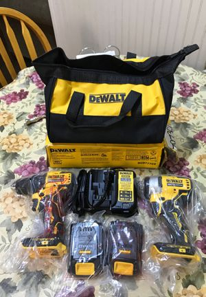 Dewalt BRUSHLESS Combo Kit.! 20V Brand new.!! 🔥 for Sale in San Jacinto, CA