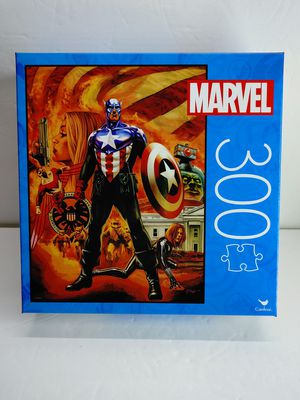 MARVEL CAPTAIN AMERICA 300 PIECE PUZZLE BRAND NEW FAST for Sale in Garden Grove, CA