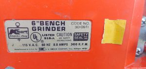 """Kmart 6"""" bench grinder never used new condition for Sale in Grottoes, VA"""
