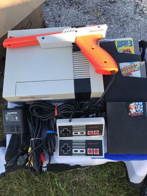 Nintendo NES Complete Tested Works Super Mario Bros. 1,2,3 for Sale in Auburndale, FL