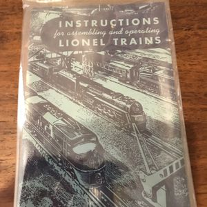 1949 Lionel Train Manual New and unopened very rare especially in this condition. for Sale in Port Richey, FL