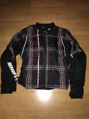 Shift Rise Against Motorcycle Racing Bike Jacket Gear with protective padding for Sale in Miami, FL