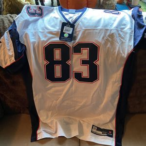 Authentic NFL Reebok New England Patriots Wes Walker Jersey Size 56 (2XL-3XL) $300 Original Retail for Sale in Long Beach, CA