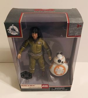 Disney Star Wars Die Cast- Rose and BB-8 Collectible Action Figure for Sale in Raleigh, NC