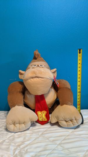 Huge Super Mario Donkey Kong stuffed animal for Sale in Martinez, CA