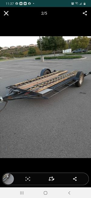 Selling trailer with ramps. 12x6 for Sale in Lake Elsinore, CA