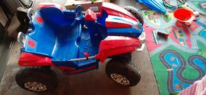 Spiderman car $100 spider man Mega set $30 for Sale in Ceres, CA