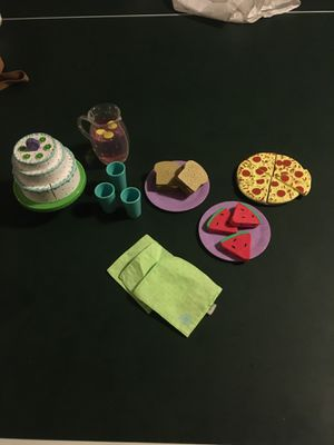 American Girl Chrissa Party Treats Set + Pizza for Sale in St. Peters, MO