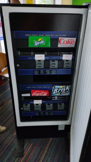 Freezer soda and snacks coins for Sale in Methuen, MA